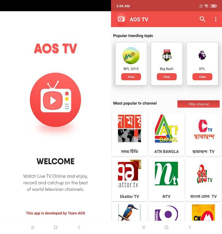 AOS Mobile TV