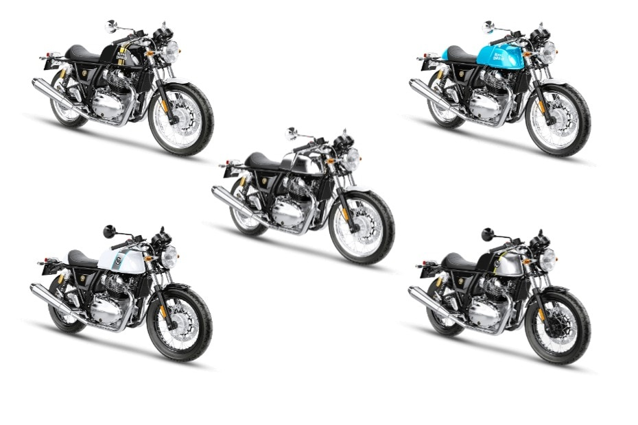 Best Colour Options For Royal Enfield Continental GT 650