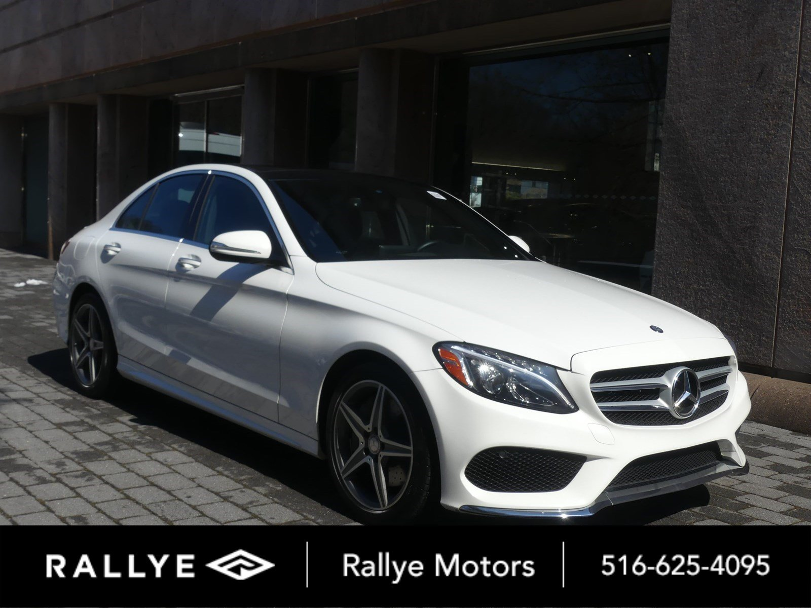 hight resolution of certified pre owned 2015 mercedes benz c class c 300 sport