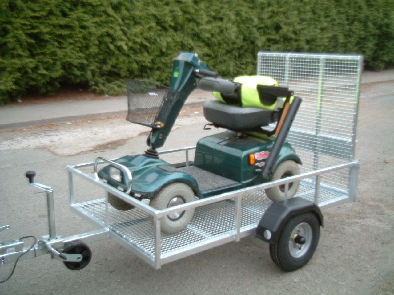 wheelchair trailer folding chair turns into bed bdaa adapted equipment