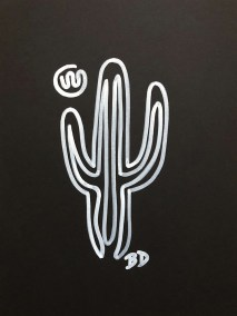 WHITE-SAGUARO_INK_6X8-ON-9X12_750X1000