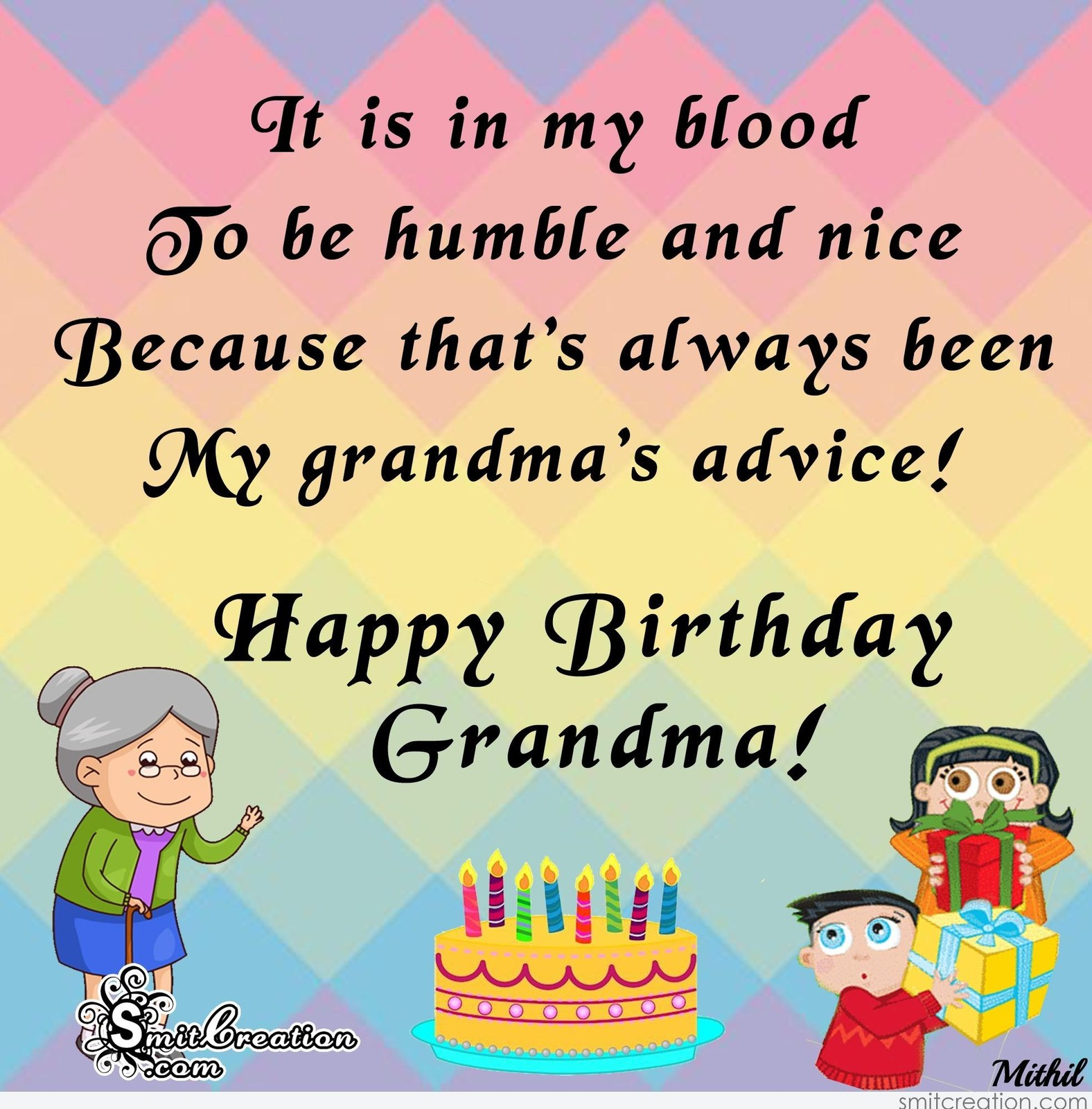Happy Birthday Images For Grandmother Free Beautiful Bday Cards And Pictures Bday Card Com