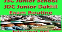 JDC Exam Routine