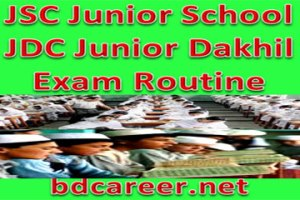 JDC Exam Routine