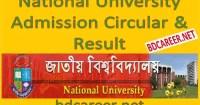 National University Admission