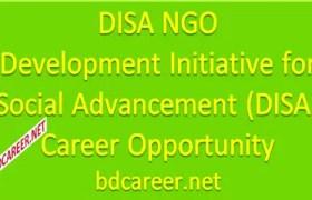 DISA NGO Career Opportunity