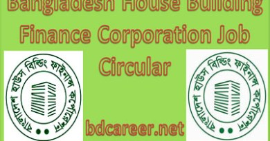 Bangladesh House Building Finance Corporation Job