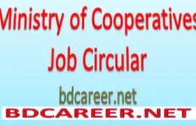 Ministry Cooperatives Job Circular