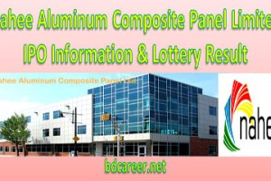 Nahee Aluminum Composite Panel Limited IPO Lottery Result