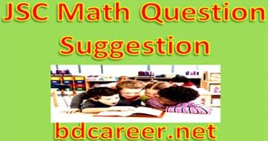 JSC Math Question Suggestion 2020