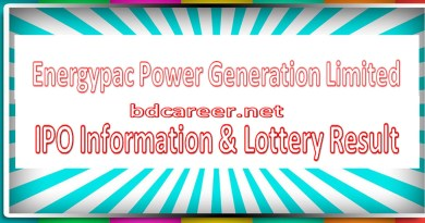 Energypac Power Generation Limited IPO Lottery Result