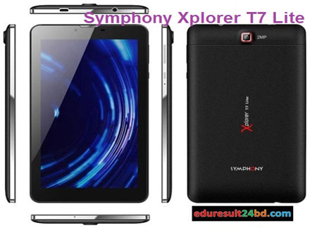 Symphony Xplorer T7 Lite Specifications and Price