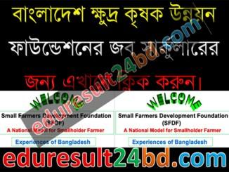 Small Farmers Development Foundation (SFDF) Job Circular