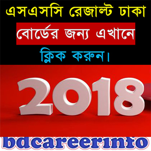 SSC Exam Result 2018 Dhaka Board