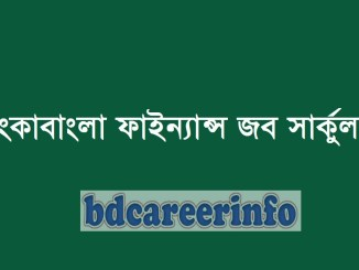 LankaBangla Finance Job Circular 2019