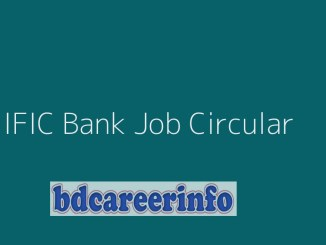 IFIC Bank Job Circular 2019