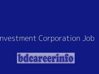 Investment Corporation Job Circular 2019