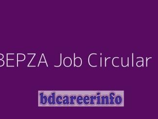 BEPZA Job Circular 2019