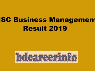 HSC Business Management Result 2019