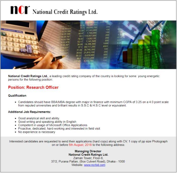 National Credit Ratings Ltd