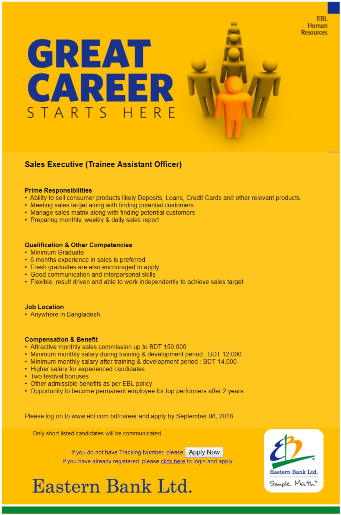Job Detail _ Eastern Bank Limited