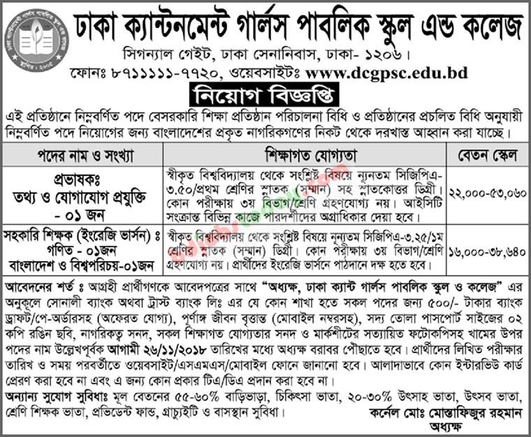 Prothom Alo Job Chakri Bakri