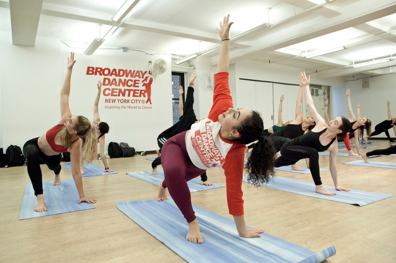 Yoga at Broadway Dance Center