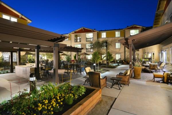 Oakdale Calif. Heritage Oaks Senior Apartments Opens