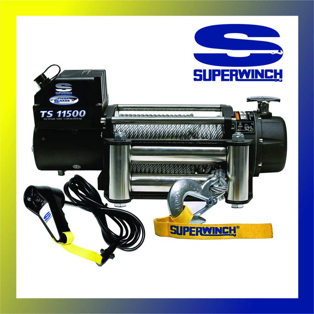 medium resolution of superwinch 11500lb synthetic cable