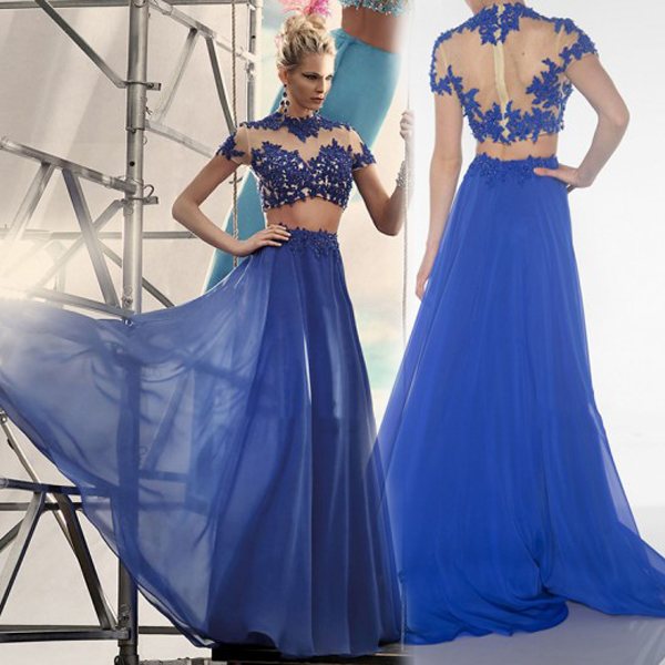 Image result for two piece prom dress not appropriate