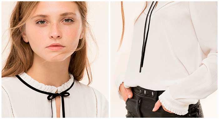 blusa victoriana moda tendencia 2017