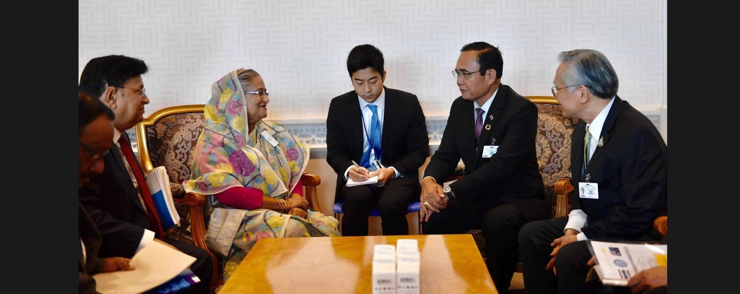 Thailand Prime Minister  met with H.E. Sheikh Hasina during UNGA74 and discussed bilateral relations especially on trade and investment, cooperation in BIMSTEC and ASEAN, and the Rohingya issue (25 Sept 19)