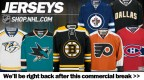 Promo spot for Shop.NHL.com featured in rotation during commercial breaks to all Game Center Live users.