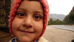 gipsy child smiling