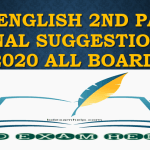 SSC English 2nd Paper Final Suggestions 2020 All Board