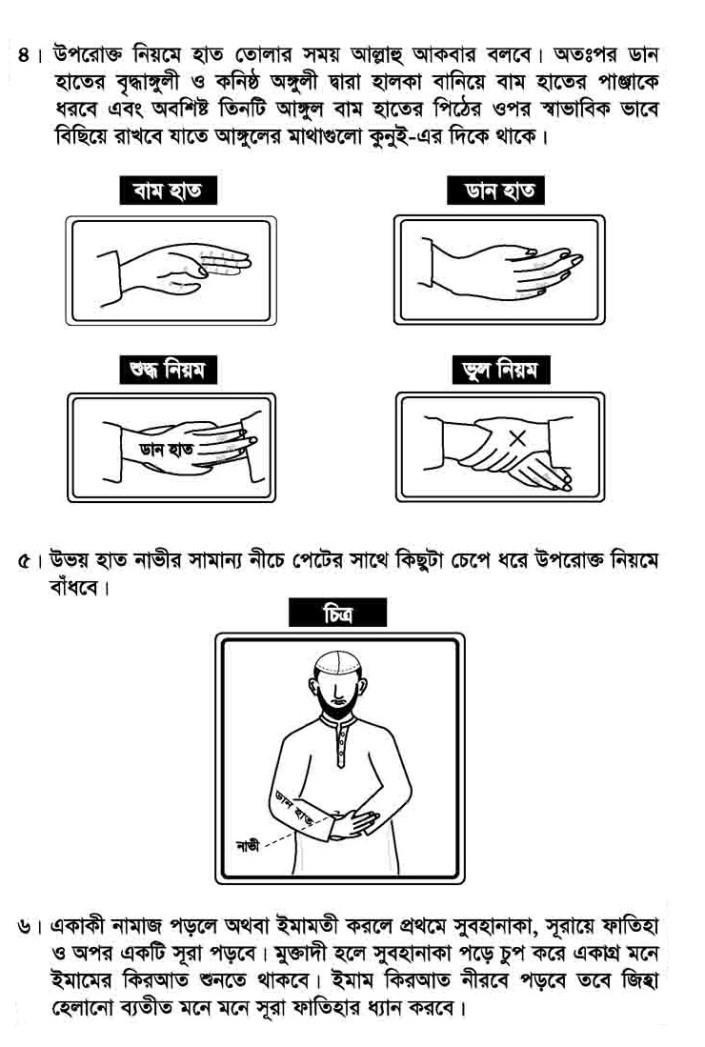 Namaz Porar Niom [নামাজ পড়ার সঠিক নিয়ম দেখুন]