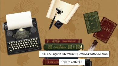 All BCS English Literature Question with Answer