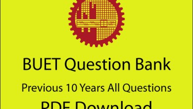 BUET Question Bank