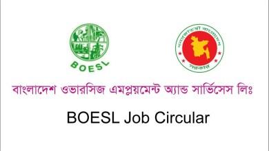BOESL Job Circular