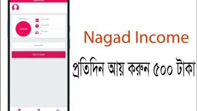 Nagad Income Earn Daily