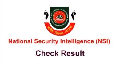 NSI Result