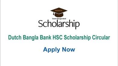 DBBL HSC Scholarship
