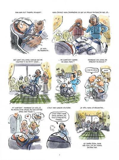 Bandes dessinées - Dans la combi de Thomas Pesquet - DARGAUD