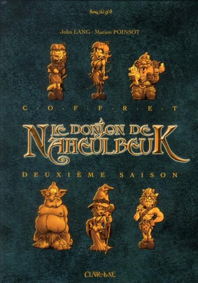 Le donjon de Naheulbeuk - Saison 2 Coffret 4 volumes Tome