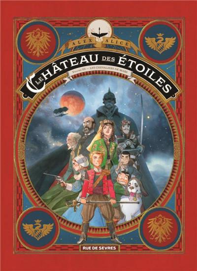 Le Chateau Des Etoiles Bd : chateau, etoiles, Château, étoiles, BDfugue.com