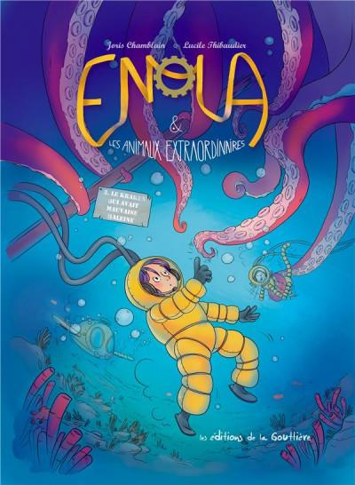 Enola Et Les Animaux Extraordinaires : enola, animaux, extraordinaires, Enola, Animaux, Extraordinaires, BDfugue.com