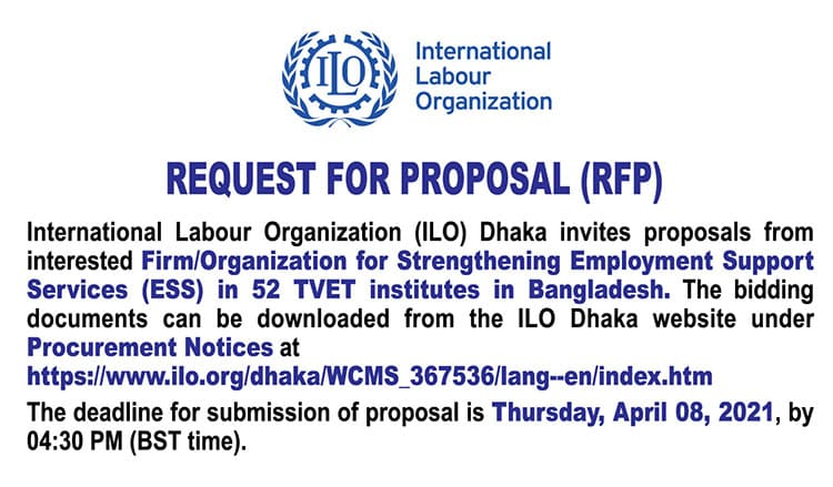 International Labour Organization ILO Job Circular