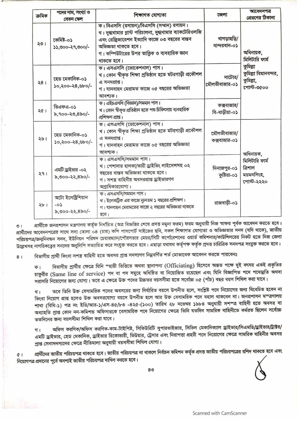 army civilian job circular pdf download