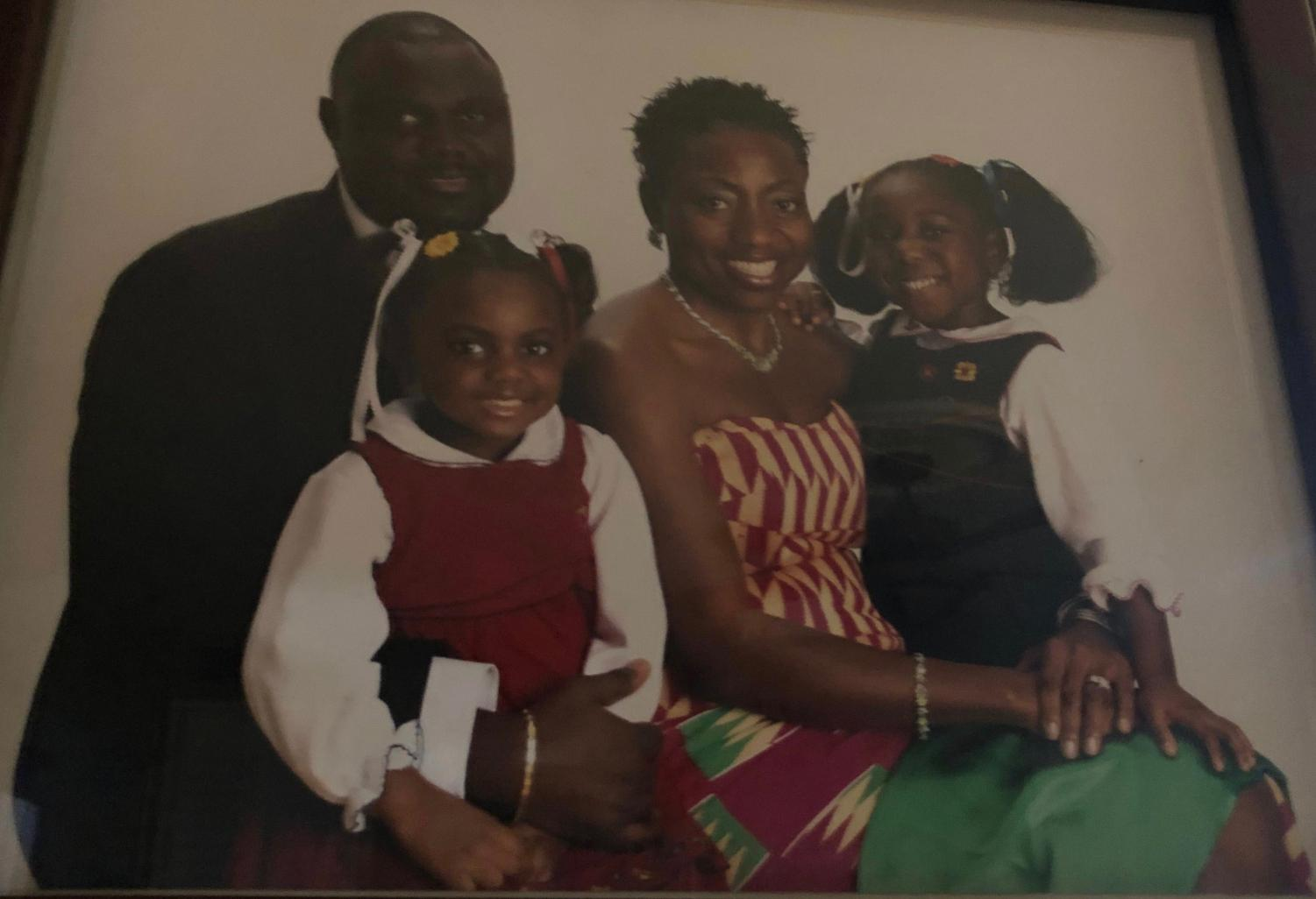 Maame Serwah Anobah-Manteaw and her family