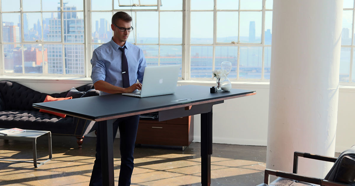 chairs for standing desks country accent lift stand up and sit bdi furniture